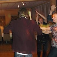 DJ hudba - tanec a zábava.