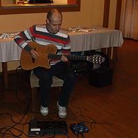 Ondrej - gitarista a inštrumentalista.