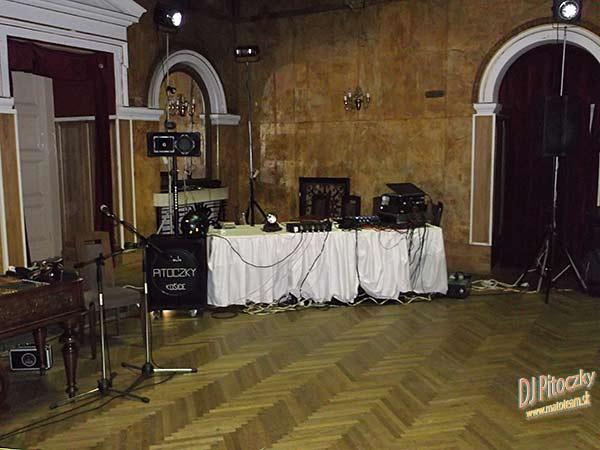 e324b24f6 Svadobný DJ Pitoczky, miesto pre DJ-a v PKO Čierný Orol.