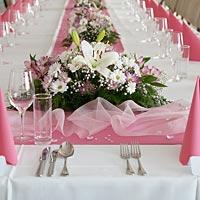 Hotel Olšanka Praha svadobný stôl.