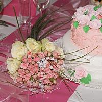 Svadobné torty.