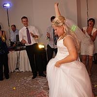 Svadobný DJ - sólo pre nevestu.