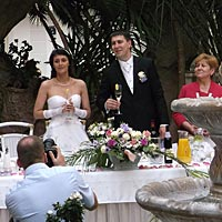 Hudba na svadbu - mladomanželia.