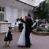 Hudba na svadbu - úvodný tanec mladomanželov.