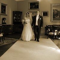 Svadobná fotografia mladomanželov - Betliar 2013.