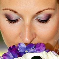 Svadobné foto Neha kvetu - kaštieľ Budimír.