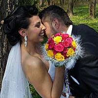 Fotenie svadby - Vášeň. - park Komjáti.
