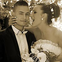 Umelecká fotografia, svadobné foto Barca.