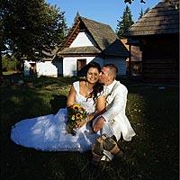 Romantická fotografia. Pribylina, Vysoké Tatry.