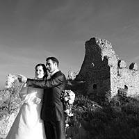 Svadba foto - na Turnianskom hrade.