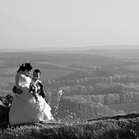 Svadba foto - spolu na Turnianskom hrade.