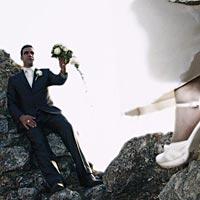 Romantické foto svadba na Turnianskom hrade.