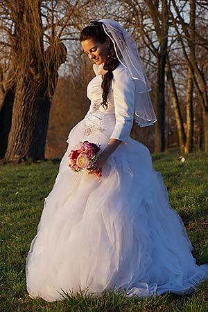 Nevesta - svadobná fotografia